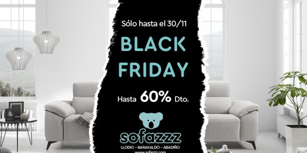 ¡Black Friday en Sofazzz!